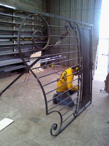 montage d'un portail